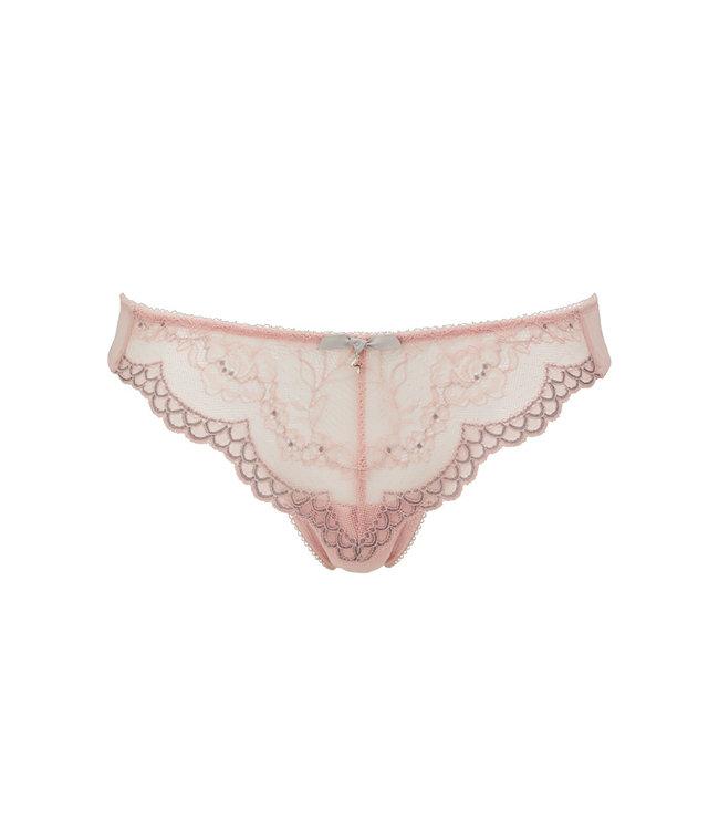 Gossard Superboost Lace Thong - Ballet Pink
