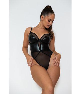 Curvy Kate Lucky Star Plunge Body Black