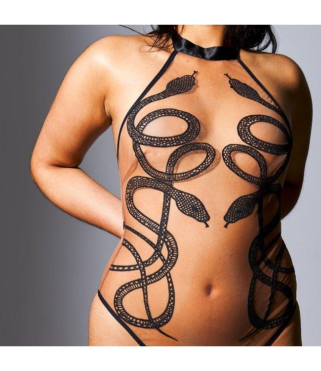 Thistle & Spire Medusa Bodysuit - Toffee