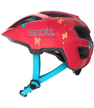 SCOTT CASQUE SPUNTO KID ROUG/ORAN   A