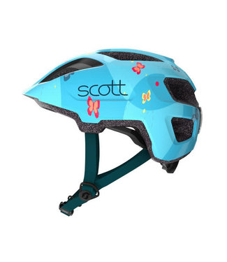 SCOTT CASQUE SPUNTO JR+ BLEU/ROSE   A
