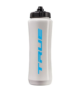 HOCKEY WHITE SQUEEZE TOP WATER BOTTLES