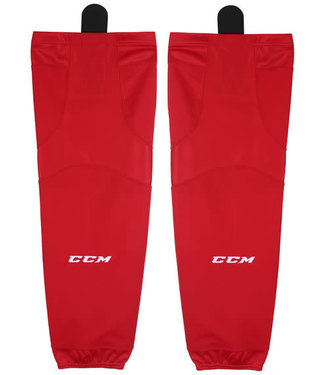 BAS DE HOCKEY CCM EDGE SX6000 JR/ROUGE