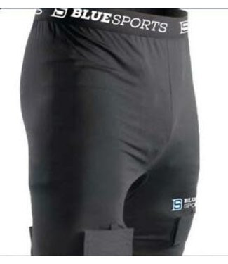 BLUE SPORTS SHORT COMPRESSION CLASSIC BLUE SPORTS