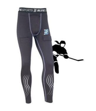 BLUE SPORTS PANTALON COMPRESSION BLUE SPORTS