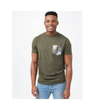 TENTREE Tentree T-Shirt Spruce Pocket TCM3343