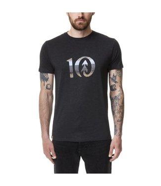 TENTREE Tentree T-Shirt Spruce Stripe TCM3404