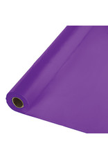 Touch of Color AMETHYST PURPLE PLASTIC BANQUET ROLL