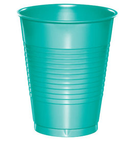 Touch of Color 16oz TEAL LAGOON PLASTIC CUPS