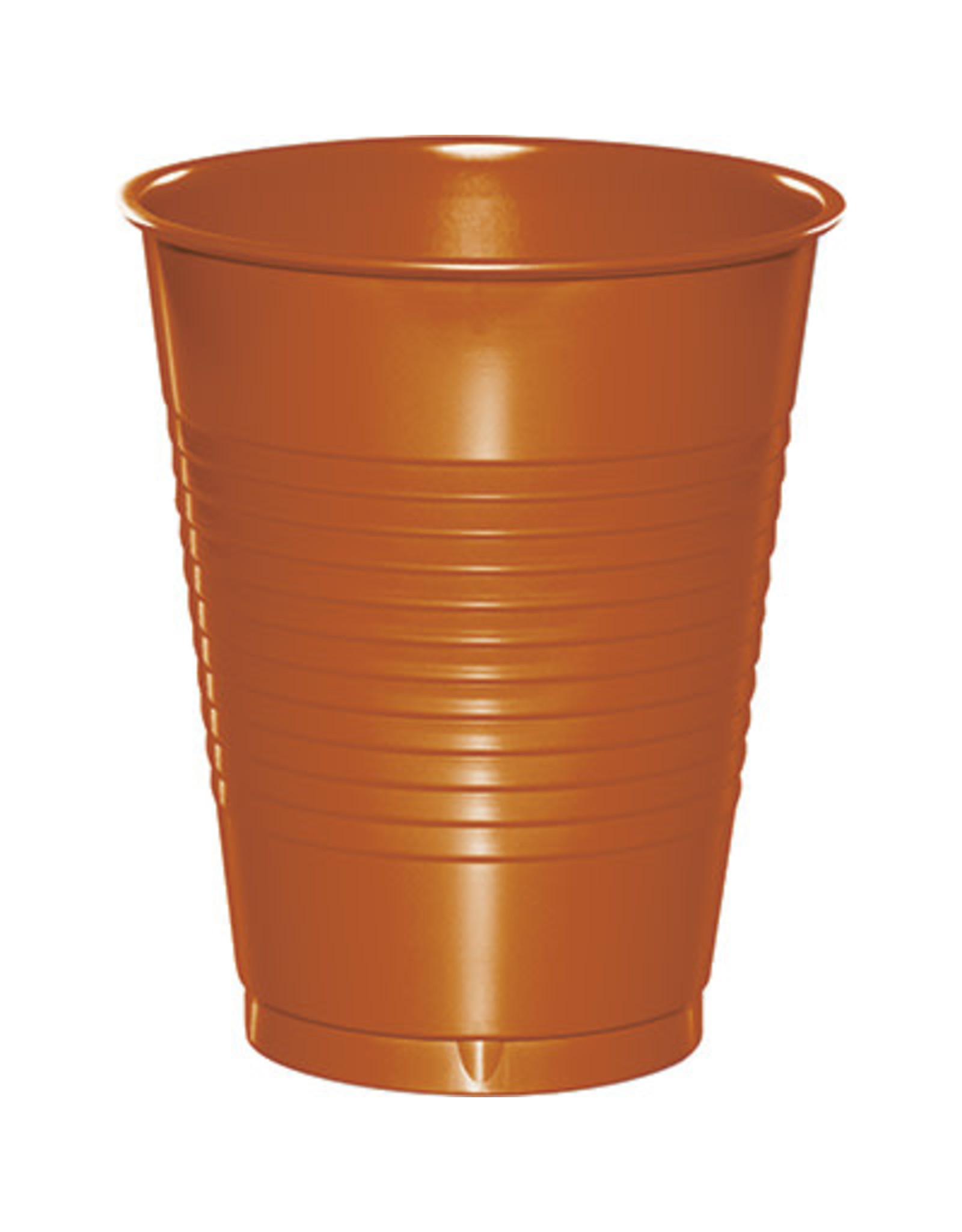 Touch of Color 16oz PUMPKIN SPICE ORANGE 16 OZ PLASTIC CUPS