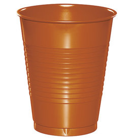 Touch of Color 16oz PUMPKIN SPICE ORANGE 16 OZ PLASTIC CUPS