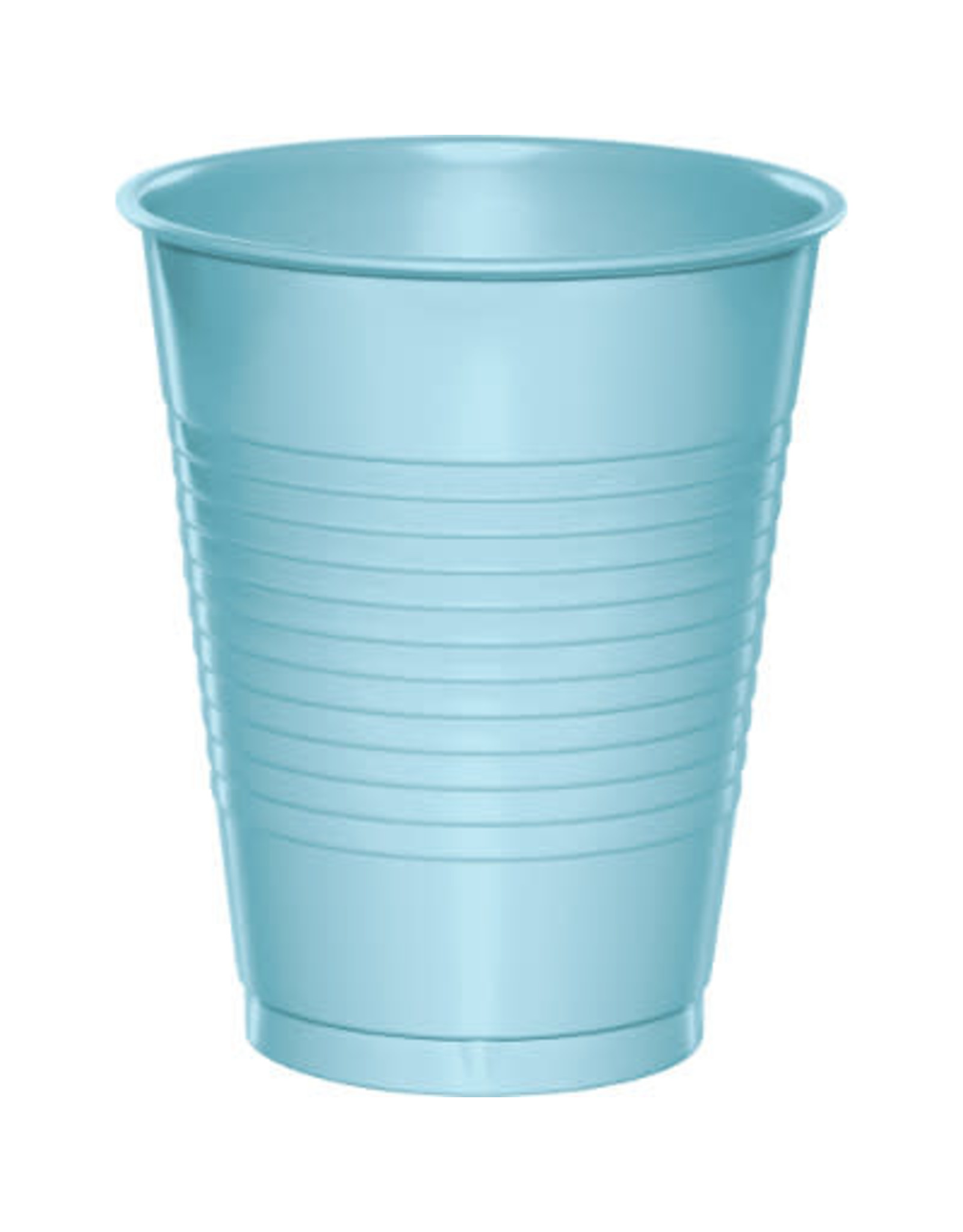 Touch of Color 16oz PASTEL BLUE PLASTIC CUPS