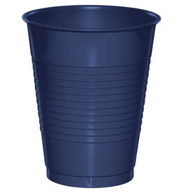 Touch of Color 16oz NAVY BLUE PLASTIC CUPS