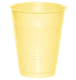 Touch of Color 16oz MIMOSA YELLOW PLASTIC CUPS