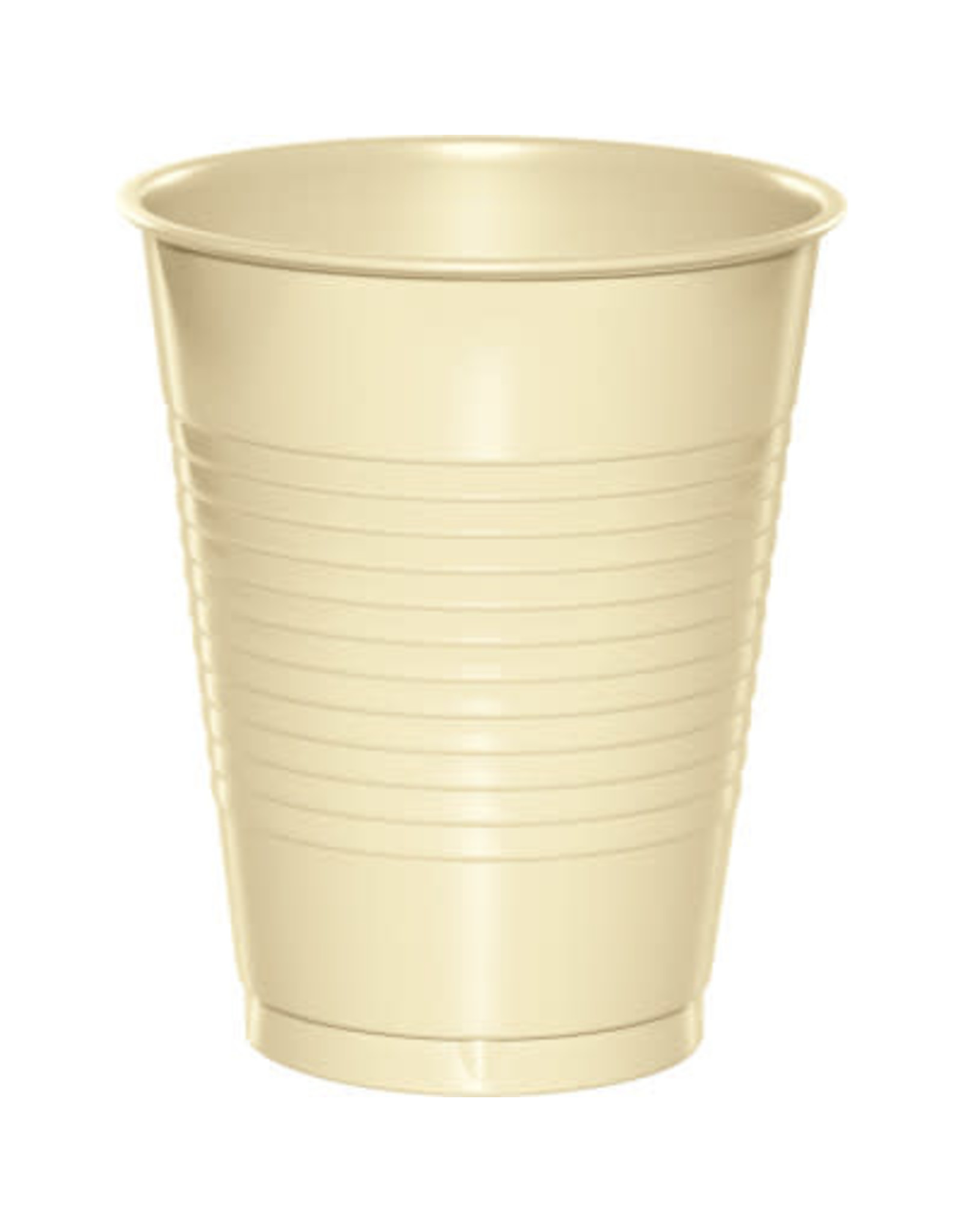 Touch of Color 16oz IVORY PLASTIC CUPS