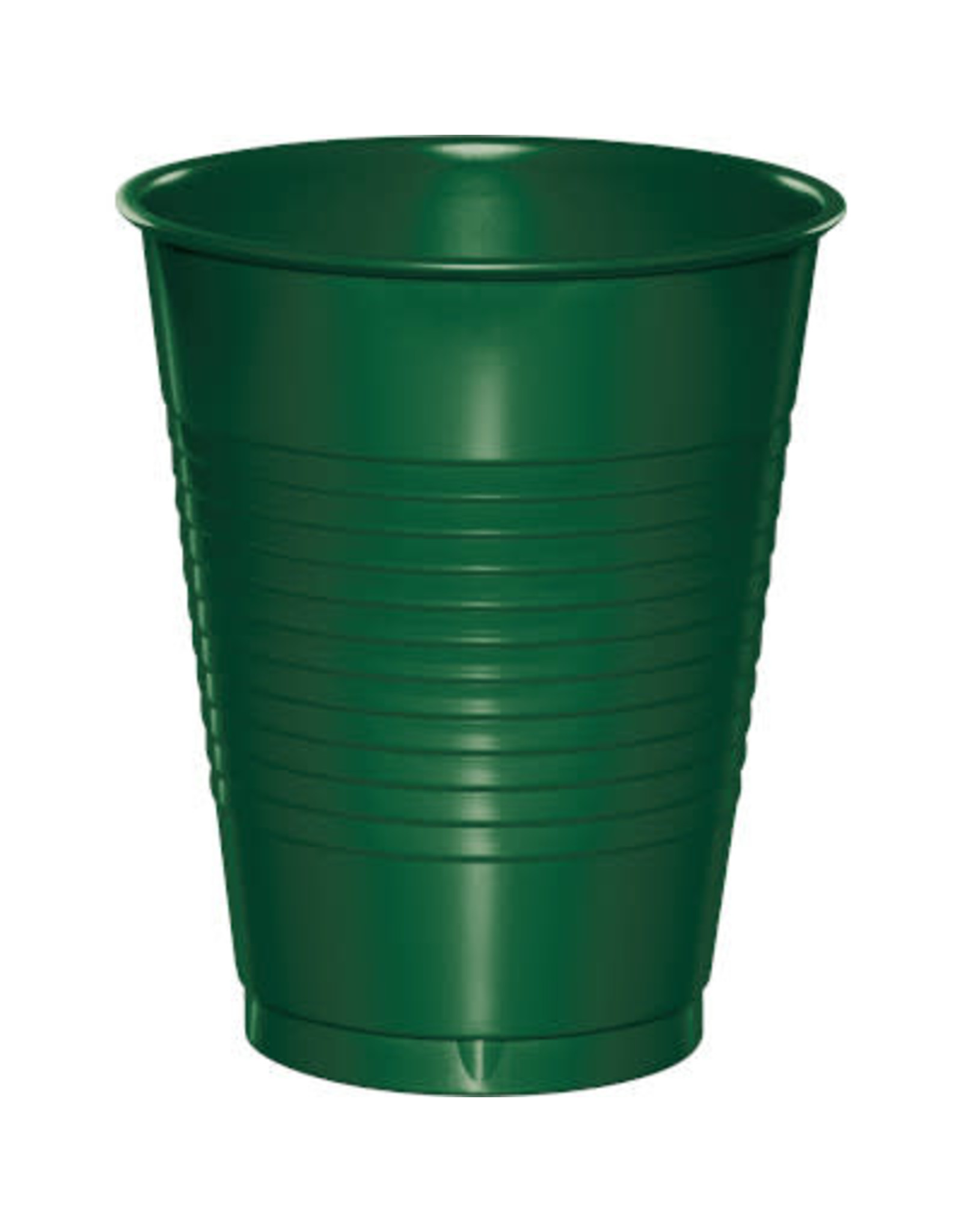 Touch of Color 16oz HUNTER GREEN PLASTIC CUPS