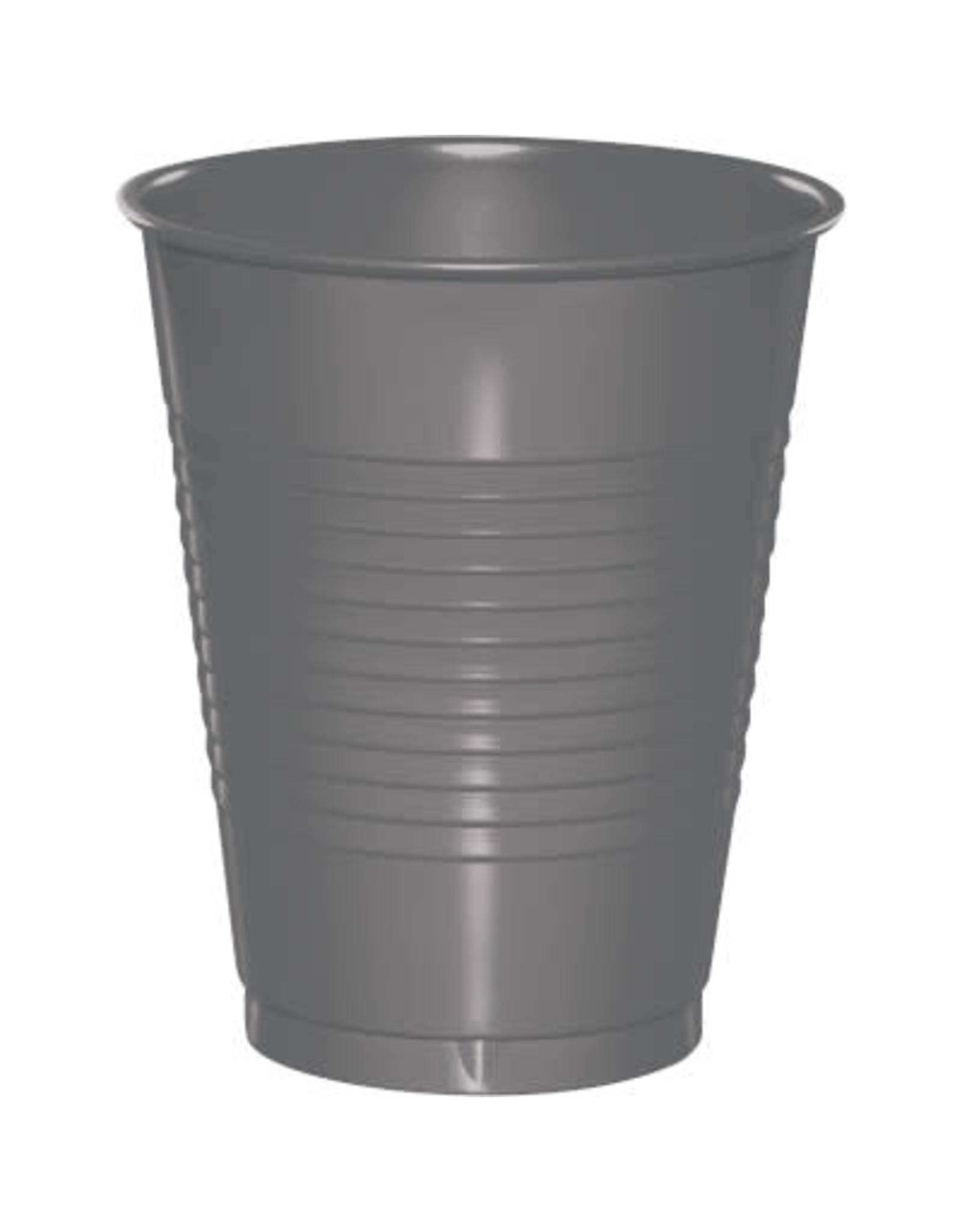 Touch of Color 16oz GLAMOUR GRAY 16 OZ PLASTIC CUPS