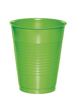 Touch of Color 16oz FRESH LIME GREEN PLASTIC CUPS