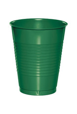 Touch of Color 16oz EMERALD GREEN PLASTIC CUPS