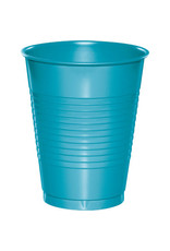 Touch of Color 16oz BERMUDA BLUE PLASTIC CUPS
