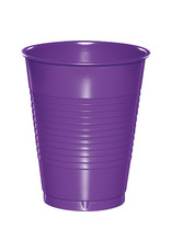 Touch of Color 16 oz AMETHYST PURPLE PLASTIC CUPS