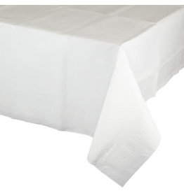 Touch of Color WHITE RECTANGLE PAPER TABLECLOTH
