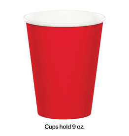 Touch of Color CLASSIC RED CUPS 9OZ