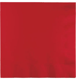 Touch of Color CLASSIC RED LUNCH NAPKINS
