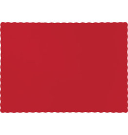 Touch of Color CLASSIC RED PLACEMATS
