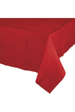 Touch of Color CLASSIC RED PAPER TABLECLOTH