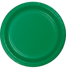 """Touch of Color 10"""" Emerald Green Paper Banquet Plate"""