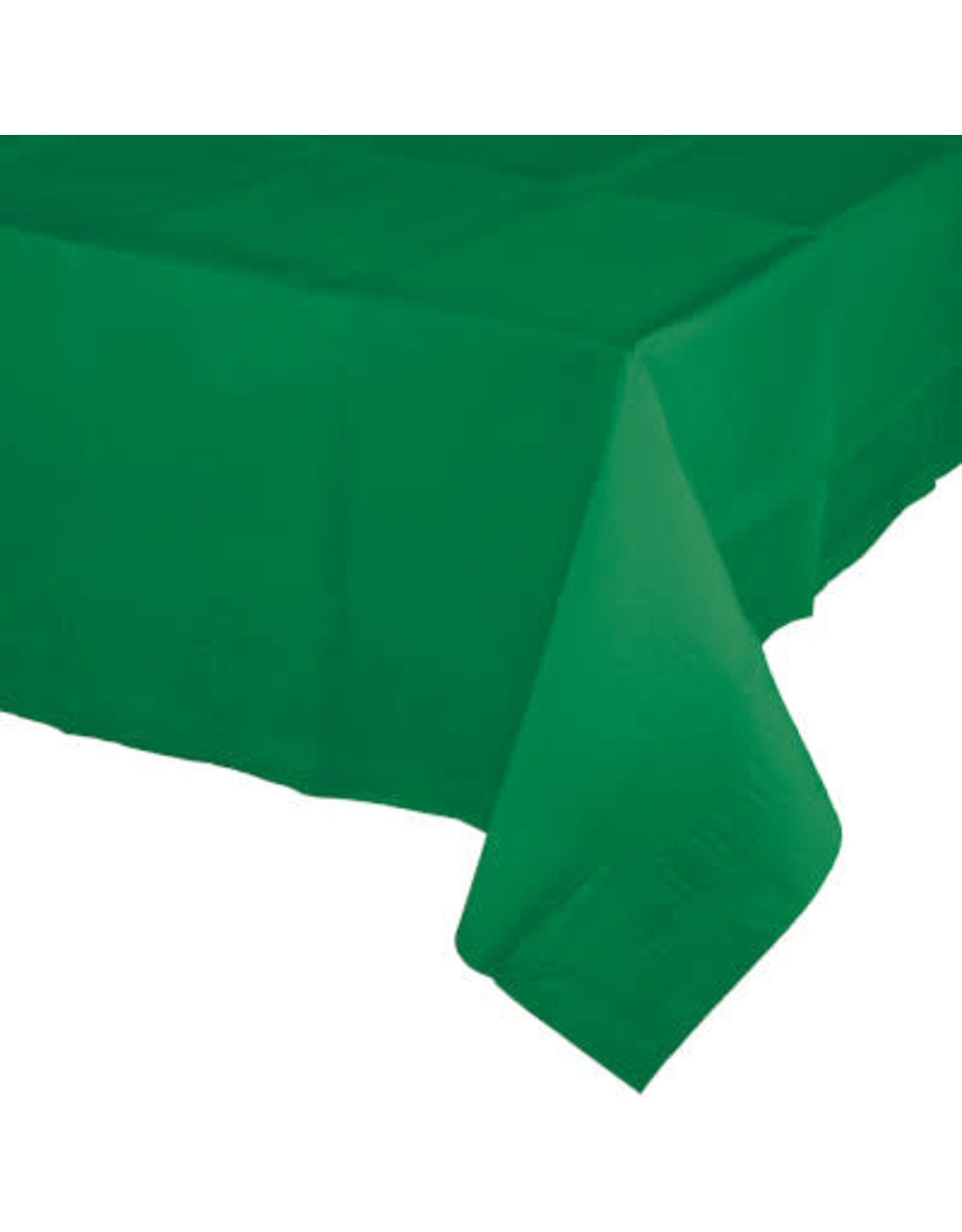 Touch of Color EMERALD GREEN PAPER TABLECLOTH