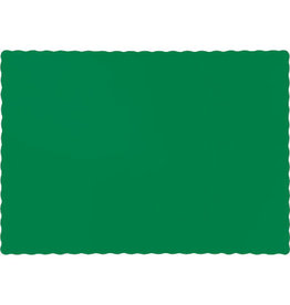 Touch of Color EMERALD GREEN PLACEMATS