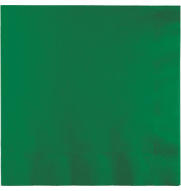 Touch of Color EMERALD GREEN LUNCH NAPKINS