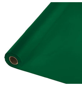 Touch of Color HUNTER GREEN PLASTIC BANQUET ROLL