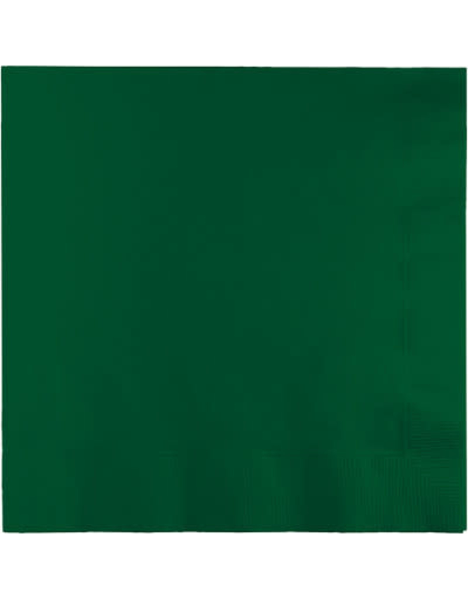 Touch of Color HUNTER GREEN LUNCH NAPKINS