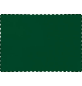 Touch of Color HUNTER GREEN PLACEMATS