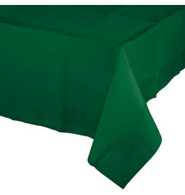 Touch of Color HUNTER GREEN PAPER TABLECLOTH