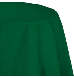 Touch of Color HUNTER GREEN OCTY ROUND PAPER TABLECLOTH