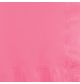 Touch of Color CANDY PINK BEVERAGE NAPKINS