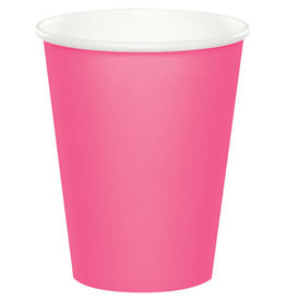 Touch of Color CANDY PINK CUPS 9OZ
