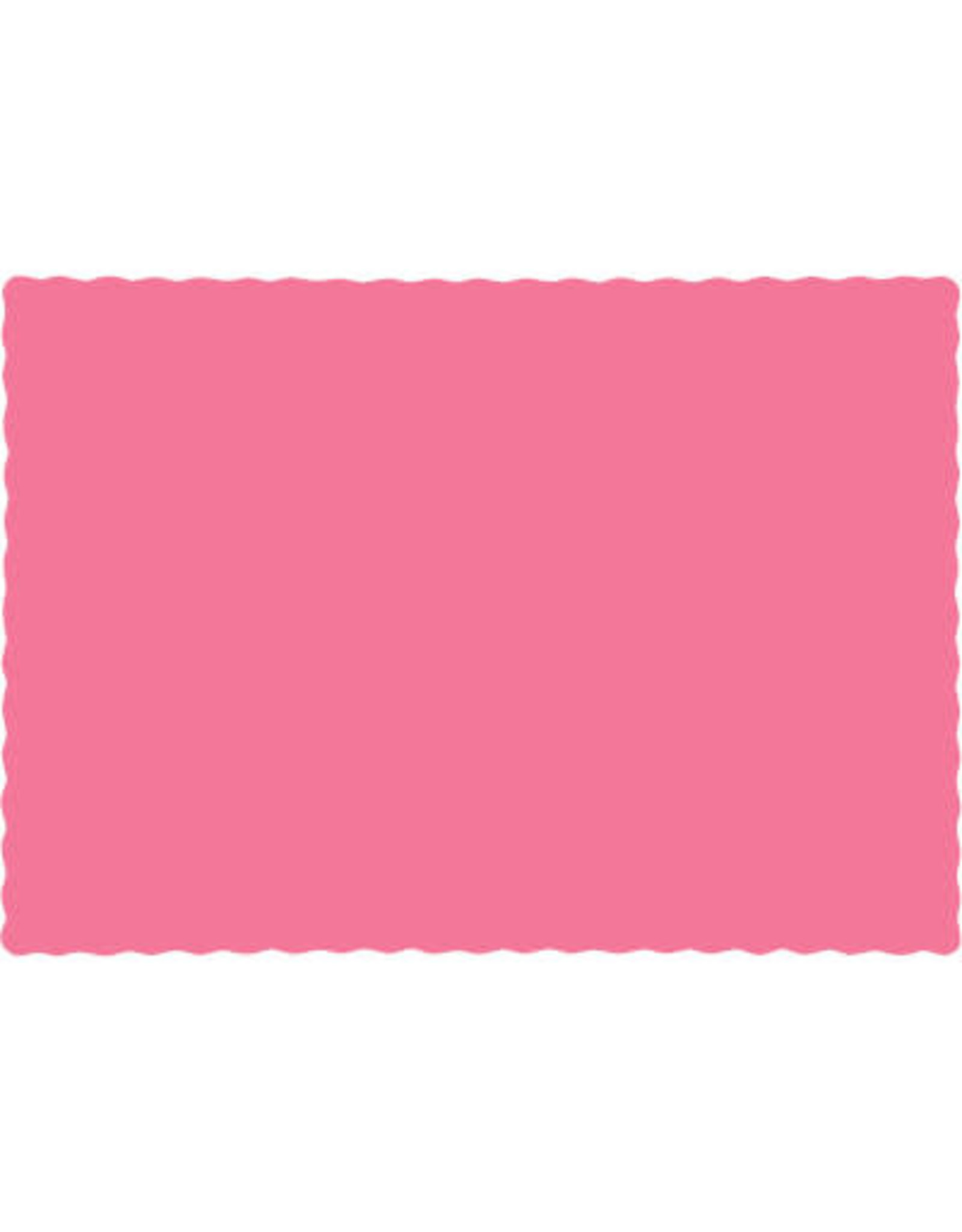 Touch of Color CANDY PINK PLACEMATS