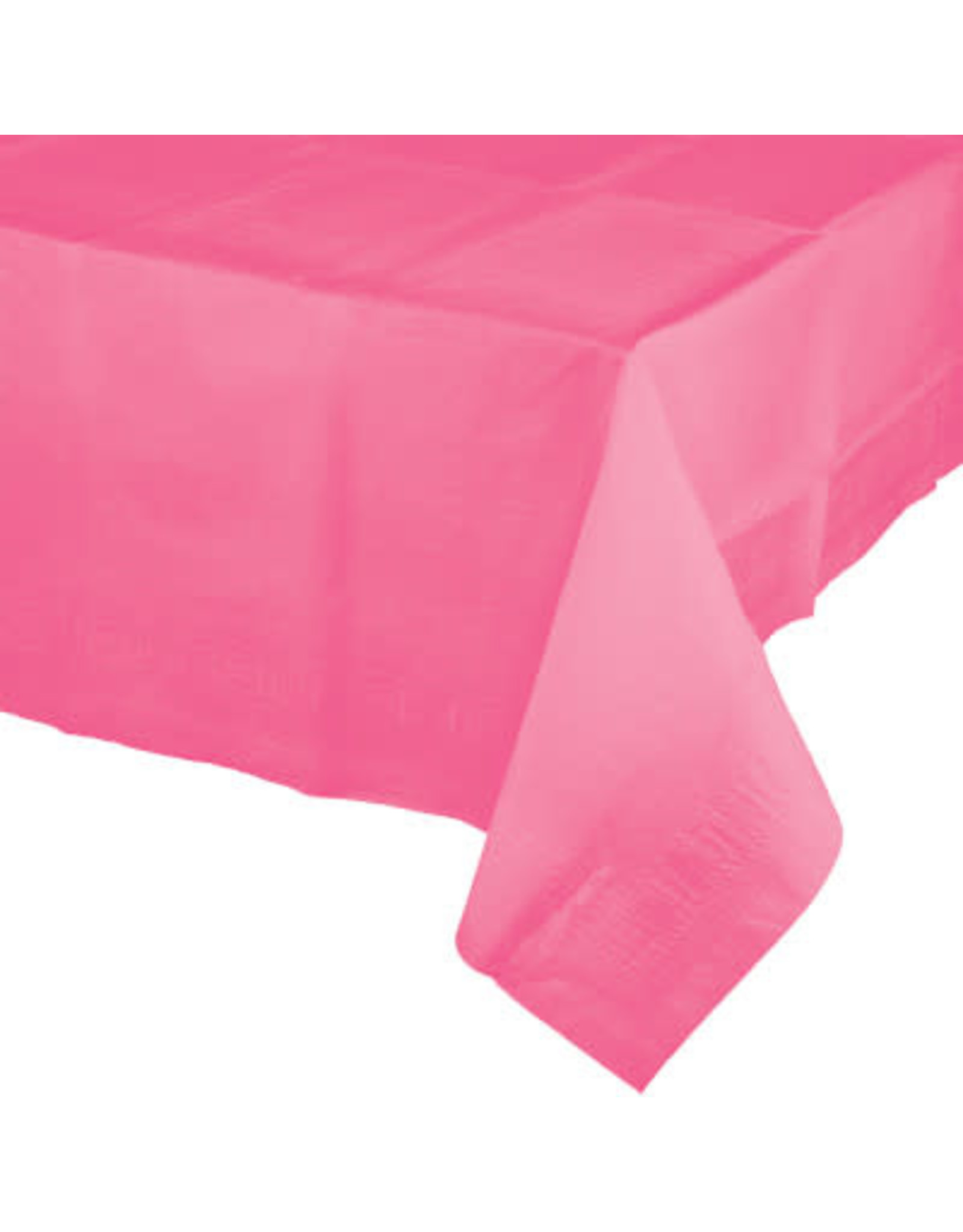 Touch of Color CANDY PINK PAPER TABLECLOTH