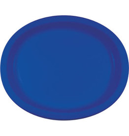 Touch of Color COBALT BLUE OVAL PLATES