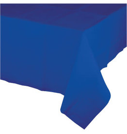 Touch of Color COBALT BLUE PAPER TABLECLOTH