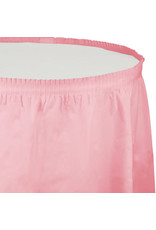 Touch of Color CLASSIC PINK PLASTIC TABLESKIRT