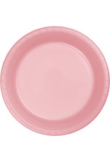 Touch of Color CLASSIC PINK PLASTIC DESSERT PLATES