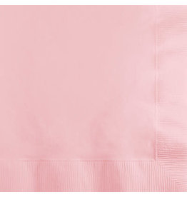 Touch of Color CLASSIC PINK BEVERAGE NAPKINS