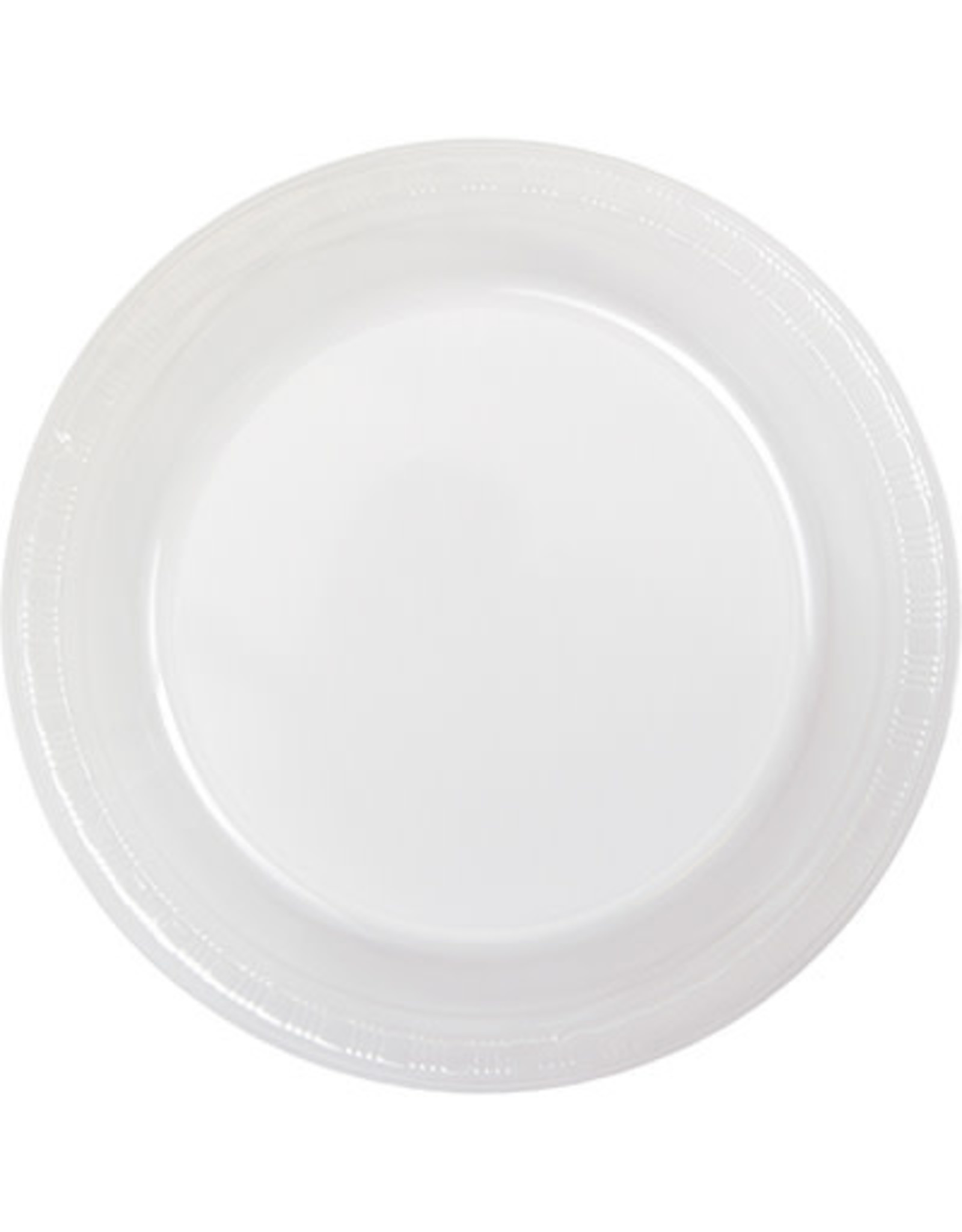 Touch of Color CLEAR PLASTIC BANQUET PLATES
