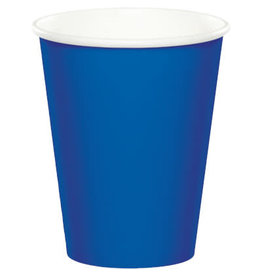 Touch of Color COBALT BLUE CUPS 9OZ